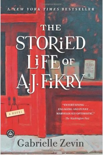 """Cover of """"The Storied Life of A.J. Fikry"""" by Gabrielle Zevin"""