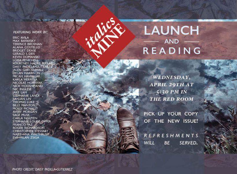 Launch Party Poster